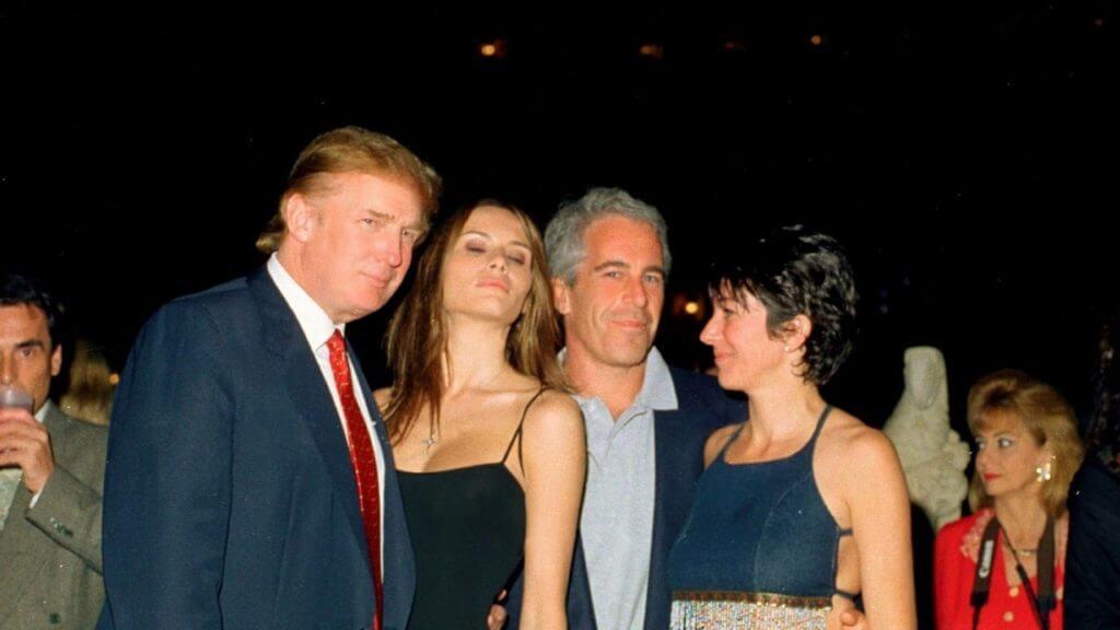 Tramp with Jeffrey Epstein