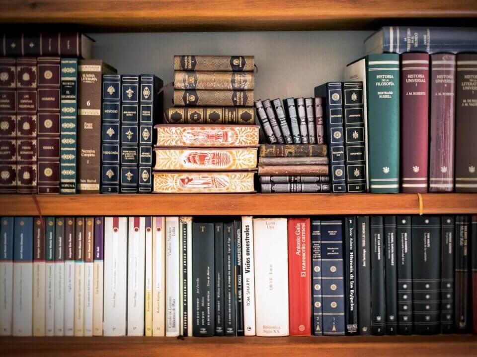 Books On The Shelves